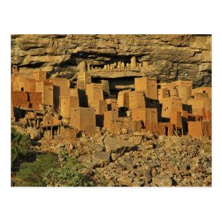 Cartão Postal MALI, terras de Dogon. Maliense tradicional de