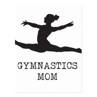 Cartão Postal Mamã da ginástica