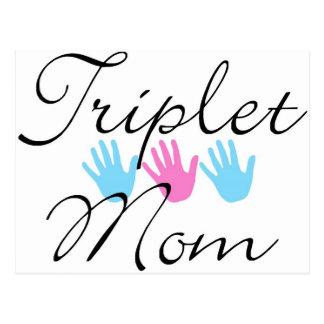 Cartão Postal mamã da objectiva tripla