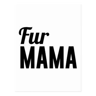 Cartão Postal Mama da pele