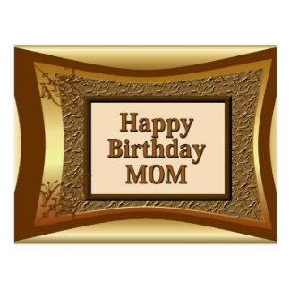 Cartão Postal Mamã do feliz aniversario