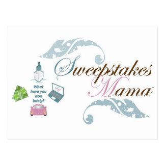 Cartão Postal Mama Engrenagem dos sorteios