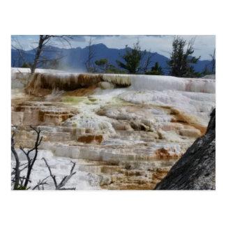 Cartão Postal Mammoth Hot Springs