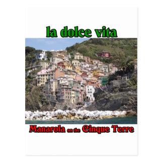 Cartão Postal Manarola Italia