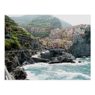 Cartão Postal Manarola, Italia