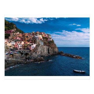 Cartão Postal Manarola, terre do cinque. Italia