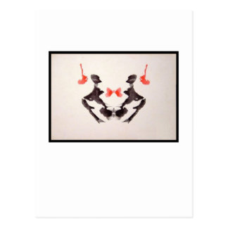 Cartão Postal Mancha de tinta 3,0 de Rorschach