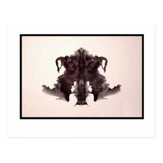 Cartão Postal Mancha de tinta 4,0 de Rorschach