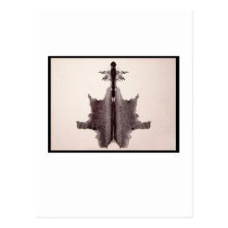 Cartão Postal Mancha de tinta 6,0 de Rorschach