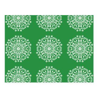 Cartão Postal Mandala da alga