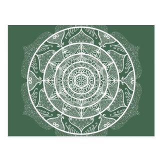 Cartão Postal Mandala da floresta
