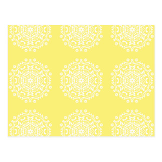 Cartão Postal Mandala da fruta de estrela