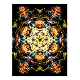 Cartão Postal Mandala da iluminação