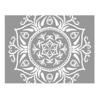 Cartão Postal Mandala de pedra