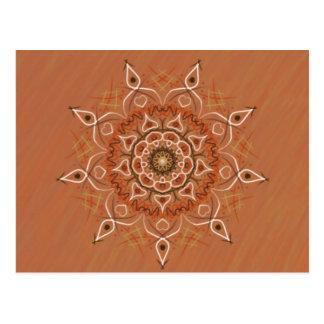Cartão Postal Mandala do amor