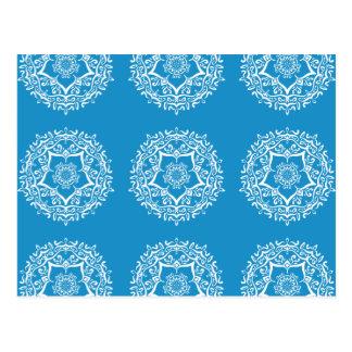 Cartão Postal Mandala do Bluebird