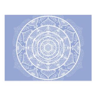 Cartão Postal Mandala do mirtilo