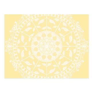 Cartão Postal Mandala do pergaminho