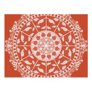 Cartão Postal Mandala do Terracotta