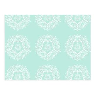 Cartão Postal Mandala do vidro do mar