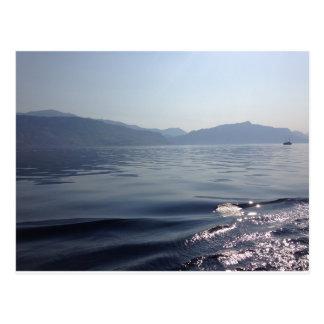 Cartão Postal Manhã no mar