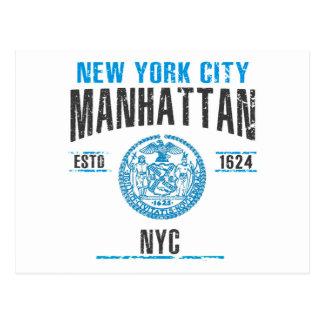 Cartão Postal Manhattan