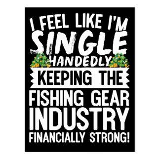 Cartão Postal Mantendo a indústria de pesca financeira forte