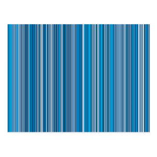 Cartão Postal Many multi colored stripes em the blue…