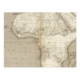 Cartão Postal Mapa 2 de África