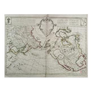 Cartão Postal Mapa das descobertas novas