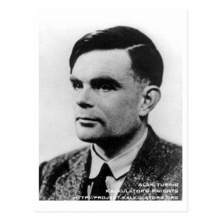 Cartão Postal Mapa postal Alan Turing