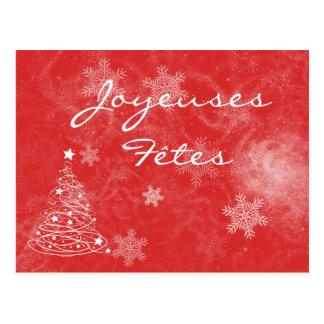 Cartão Postal Mapa postal Felizes Festas