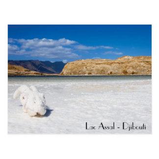 Cartão Postal Mapa postal Jibuti