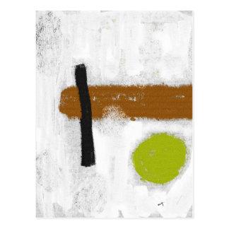 """Cartão Postal Mapa postal """"um Círculo Verde """""""