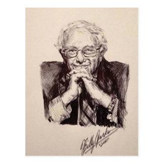 Cartão Postal Máquinas de lixar de Bernie por Billy Jackson