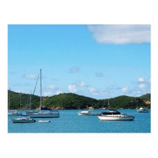 Cartão Postal Mar calmo St Thomas