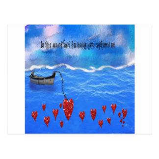 Cartão Postal Mar do amor