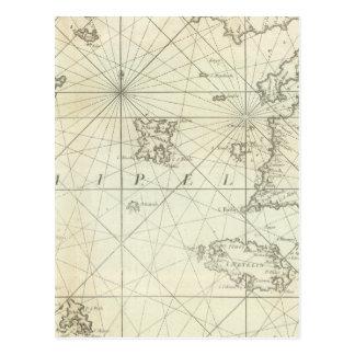 Cartão Postal Mar Mediterrâneo 5