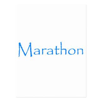 Cartão Postal Maratona
