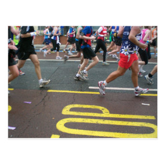 Cartão Postal Maratona em Londres 2010