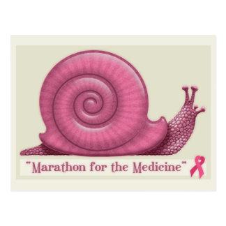 Cartão Postal Maratona para a medicina
