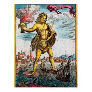Cartão Postal Maravilhas do mundo antigo