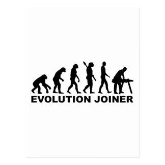 Cartão Postal Marceneiro da evolução
