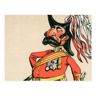 Cartão Postal Marechal de campo britânico