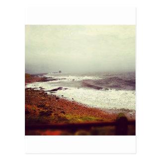 Cartão Postal Mares tormentosos
