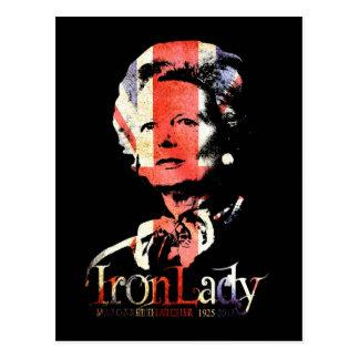 Cartão Postal Margaret Thatcher