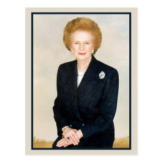 Cartão Postal Margaret Thatcher, dama de ferro