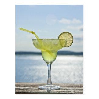 Cartão Postal Margarita pelo mar