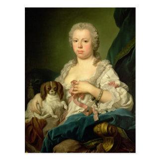 Cartão Postal Maria-Barbara de Braganza