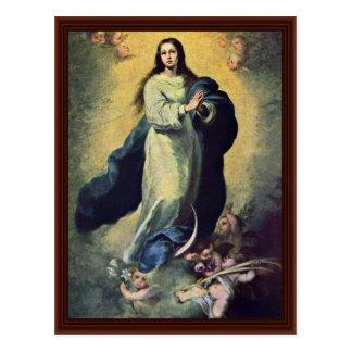 Cartão Postal Maria ImmaculataBy Murillo Bartolomé Esteban Pérez